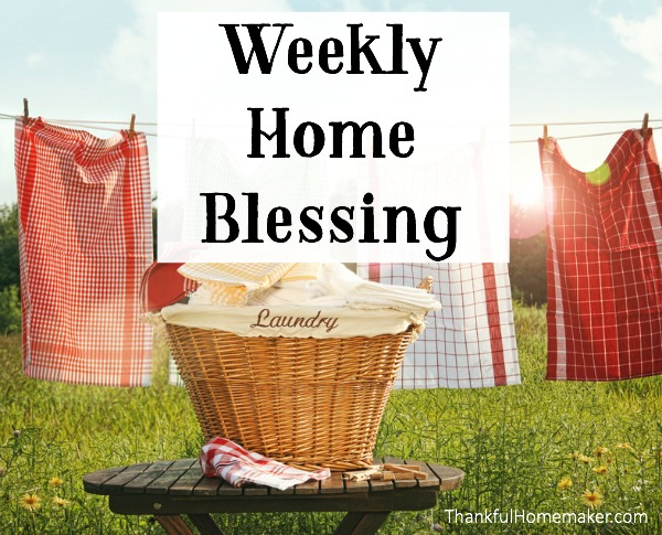 Weekly Home Blessing