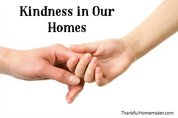 Kindness in Our Homes