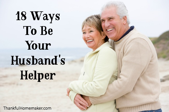 18 Ways to Be Your Husband's Helper