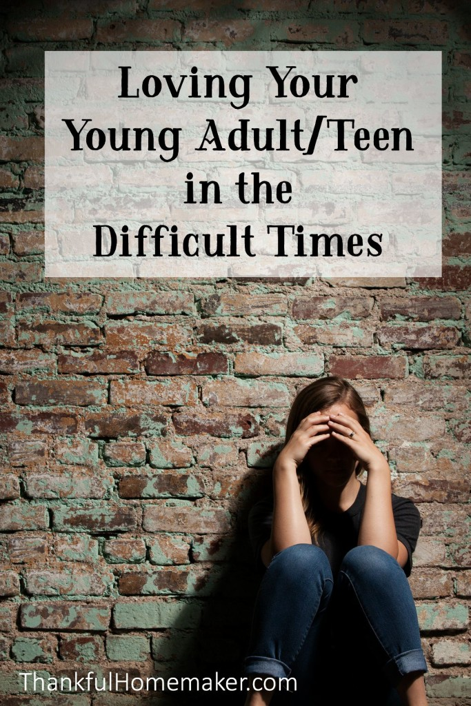 Loving Your Young Adult Teen In The Difficult Times . @mferrell