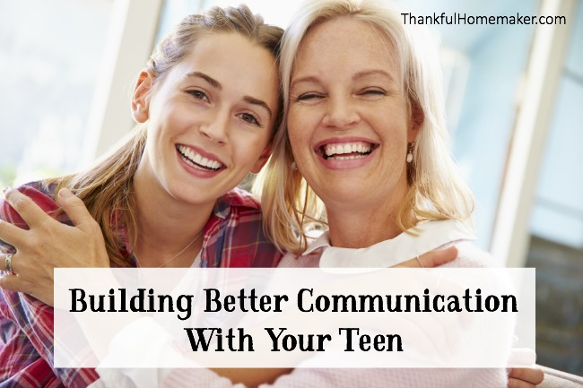 Building Better Communication With Your Teen