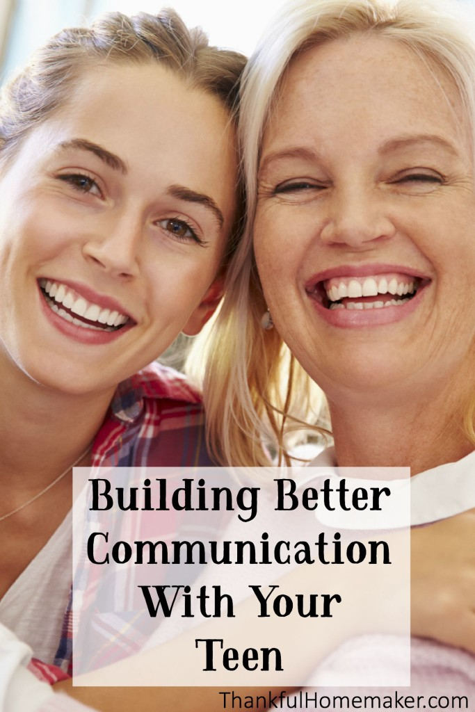 Building Better Communication With Your Teen. @mferrell