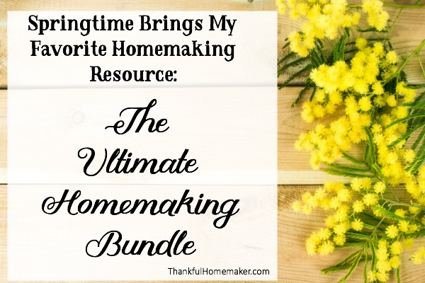 The Ultimate Homemaking Bundle