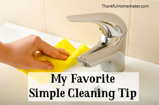 My favorite time saving and practical cleaning tip. @mferrell