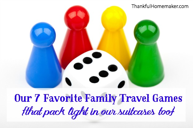 Our 7 Favorite Family Travel Games