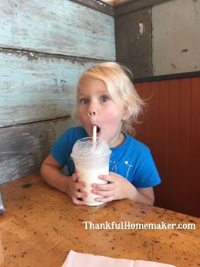 Anya Milkshake Funny Face